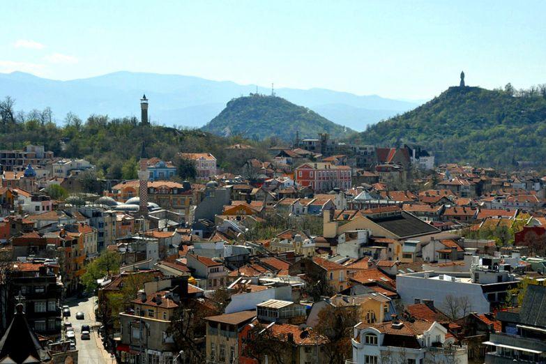 Вид на Пловдив