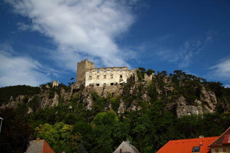 Руины замка в Бадене