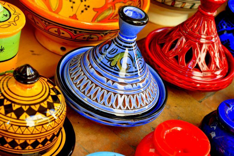 Керамическая посуда для танжина