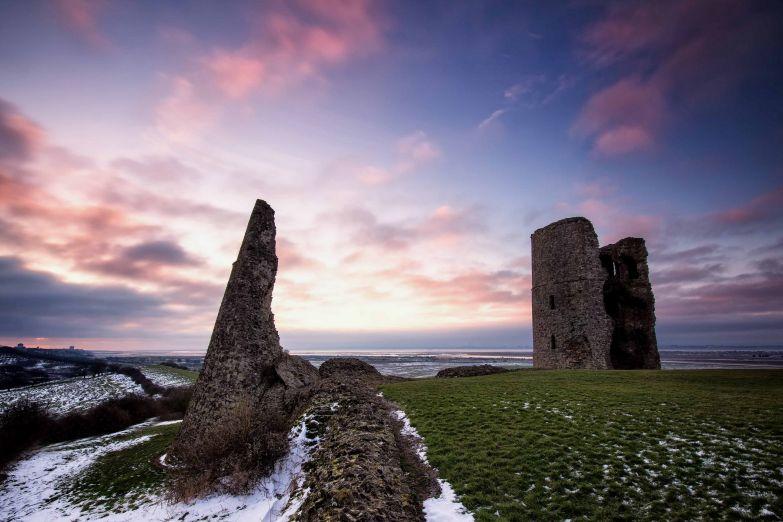 Замок Хадли в графстве Эссекс на юго-востоке Англии