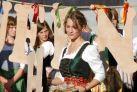 Девушка на фестивале в Зальцбурге