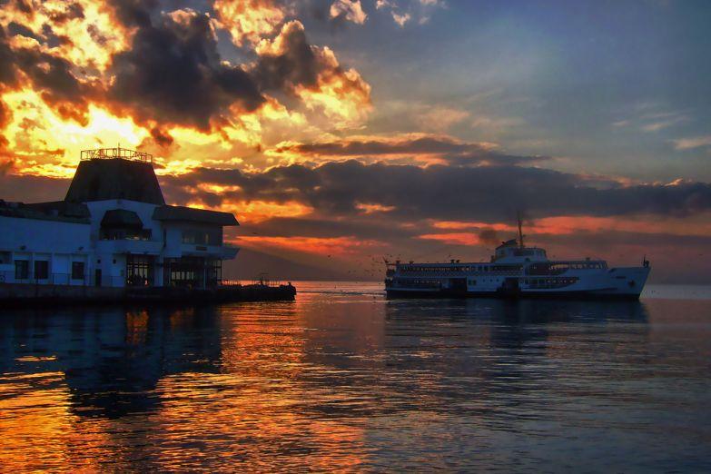 Вечерняя гавань