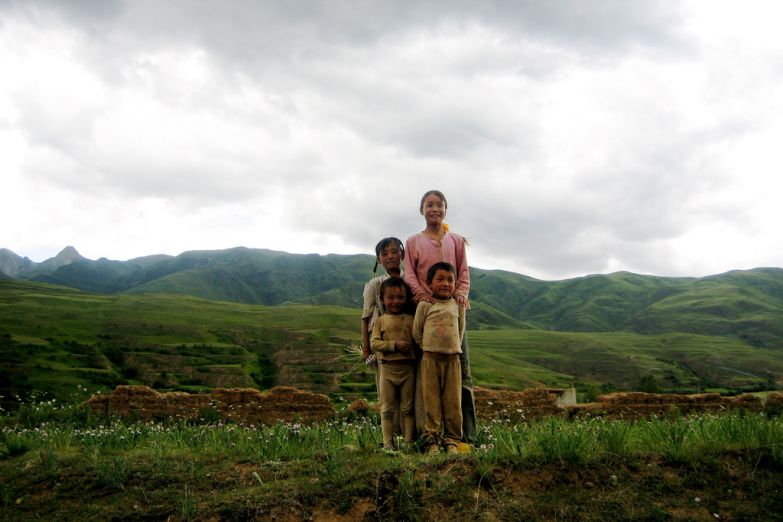 Тибетские дети