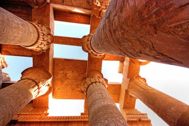 Вершины Карнакского храма