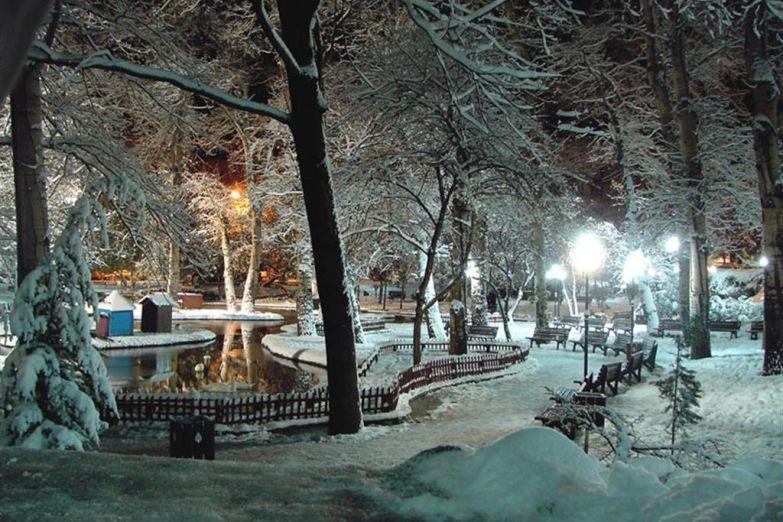 Зимний парк в Анкаре