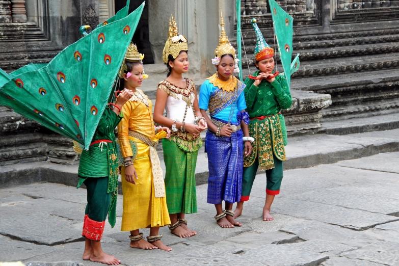 Традиционное представление в Ангкоре