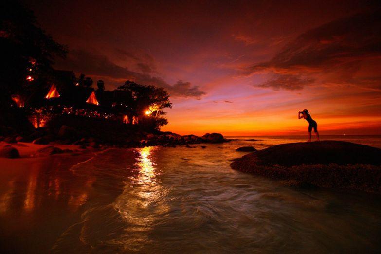 Закат над Пхукетом