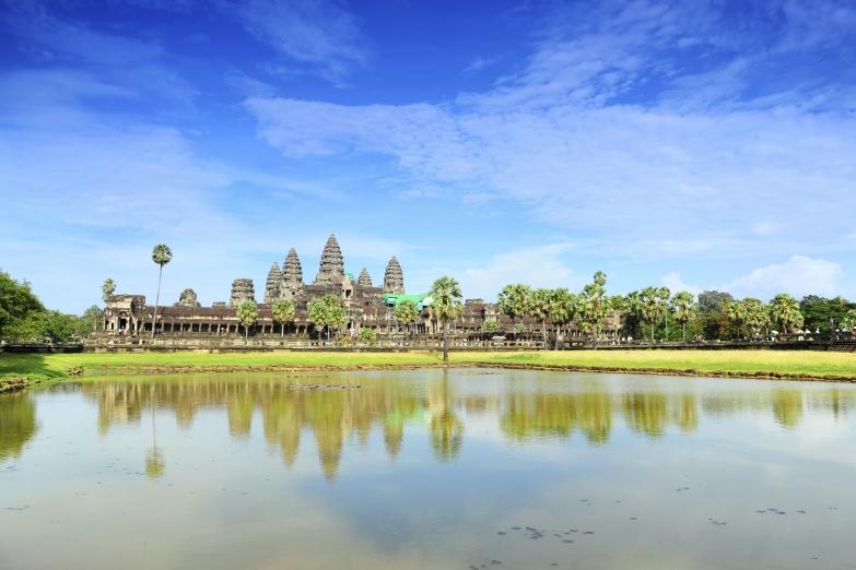 Озеро в Ангкор-Вате