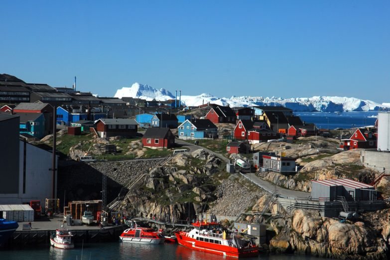 Столица Гренландии - город Нуук
