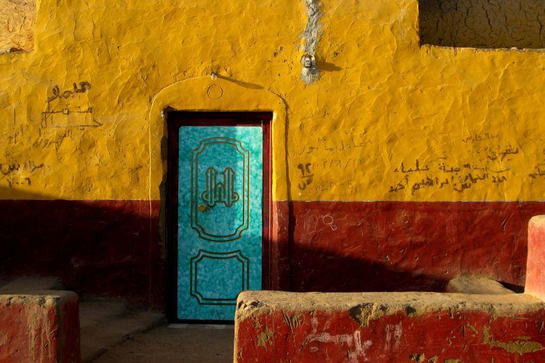 Цвета нубийской деревни
