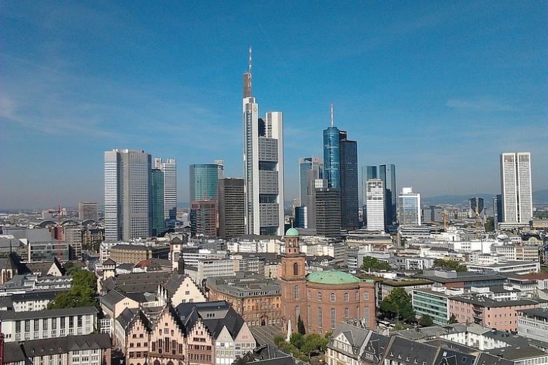 Панорама небоскребов Франкфурта