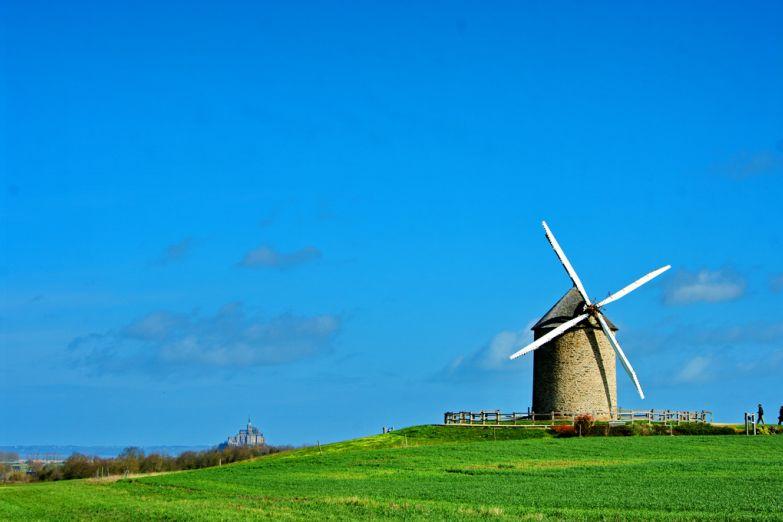 Пейзажи Нормандии
