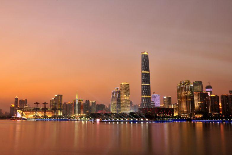Рассвет над Гуанчжоу