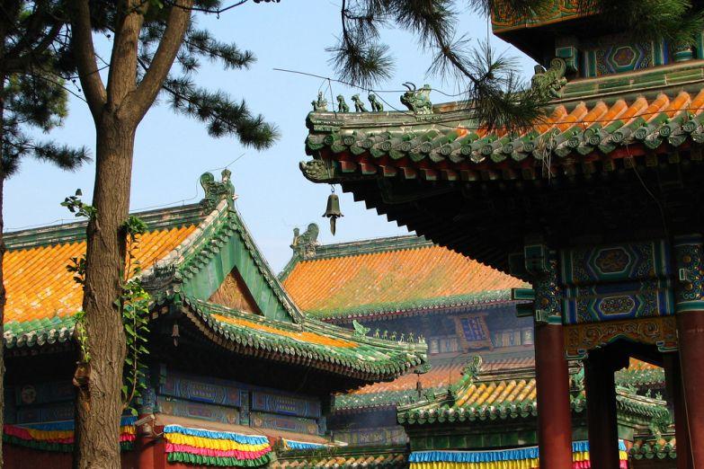Старинная архитектура Китая