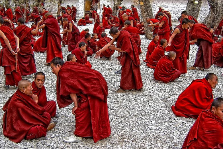 Буддйские монахи
