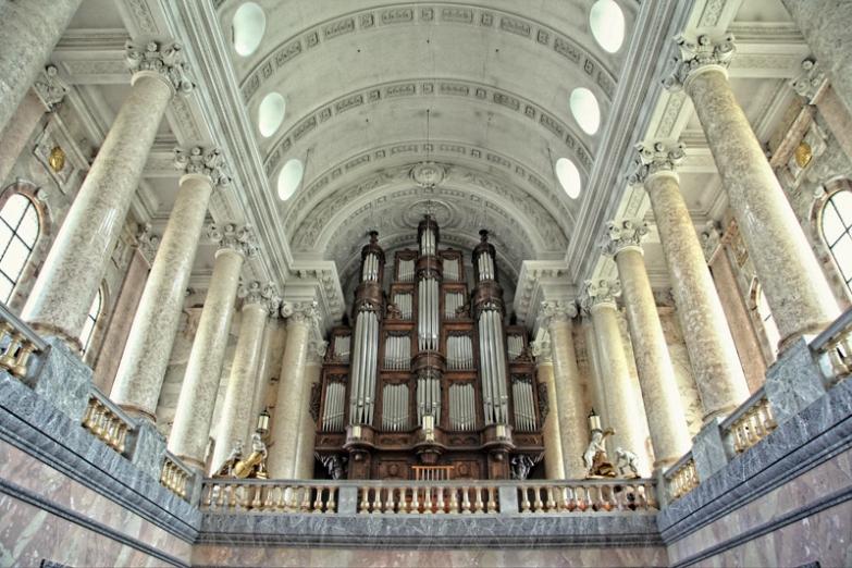 Интерьер собора Св.Власия в Шварцвальде