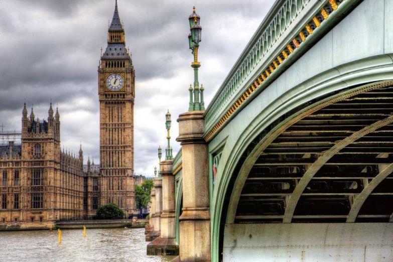 Башня Биг Бэн в Лондоне