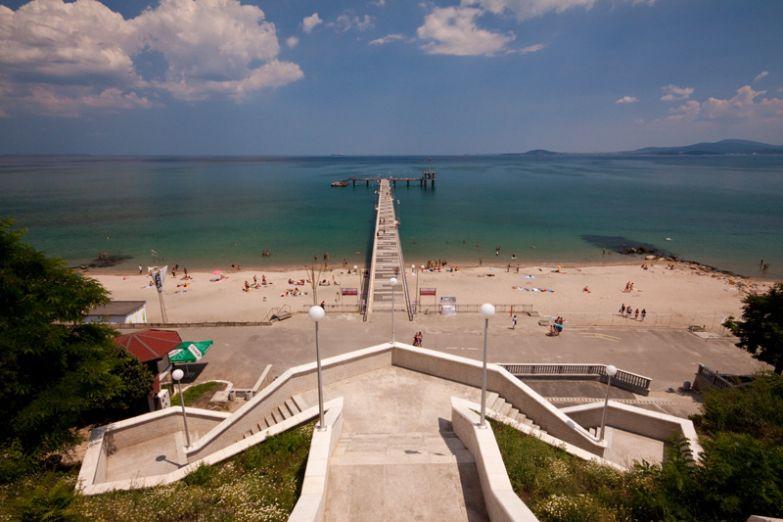 Вид с Приморского парка