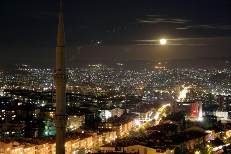 Ночная Анкара