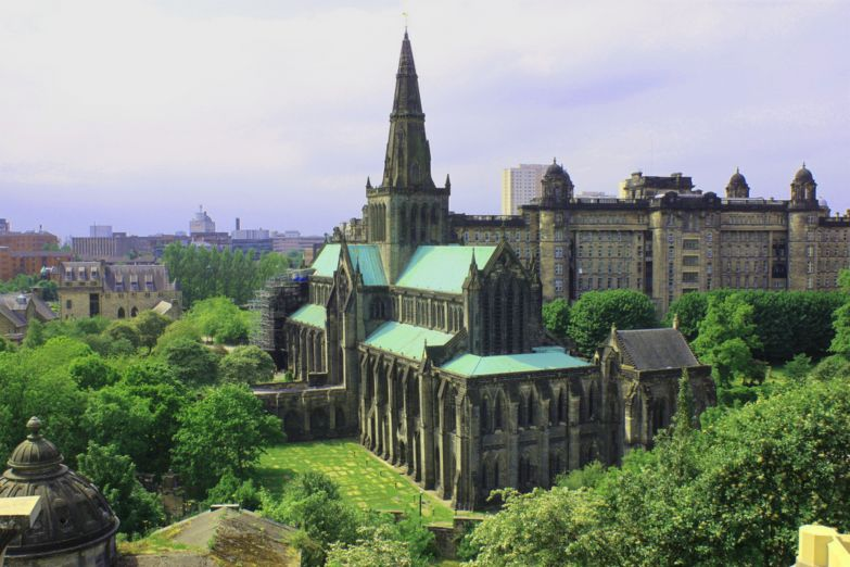Вид на Кафедральный собор Глазго