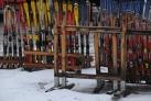 Станция по прокату лыж