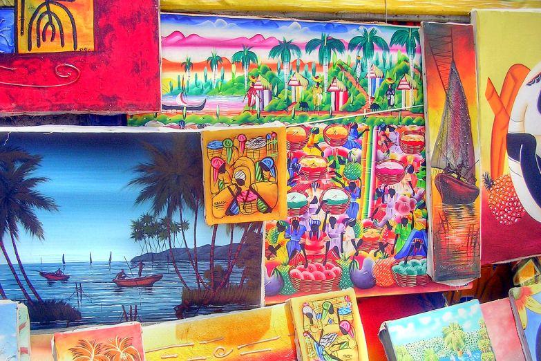 Сувенирная лавка в Санто-Доминго