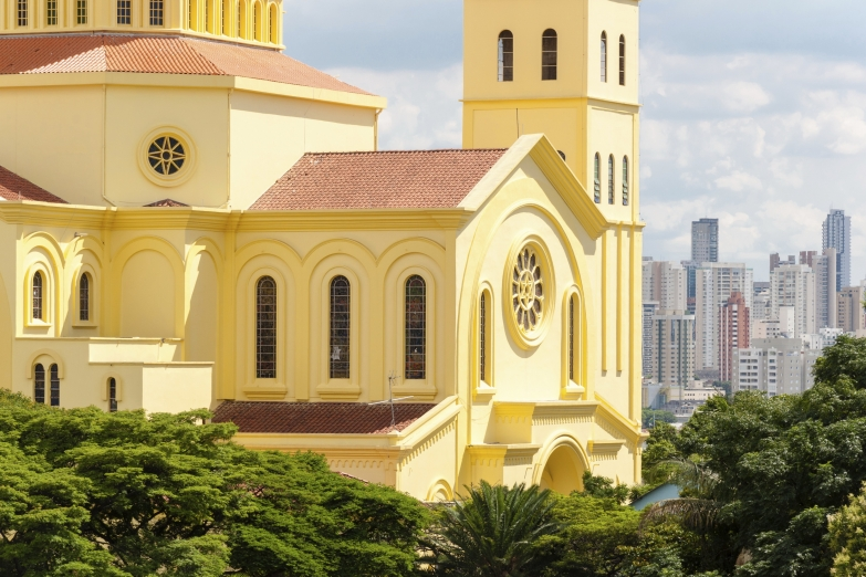 Католический храм в Сан-Паулу