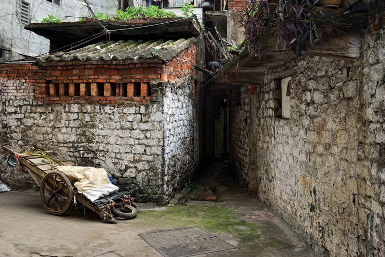 Старая деревня на Хайнане
