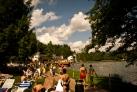 Купание в озере Хевиз