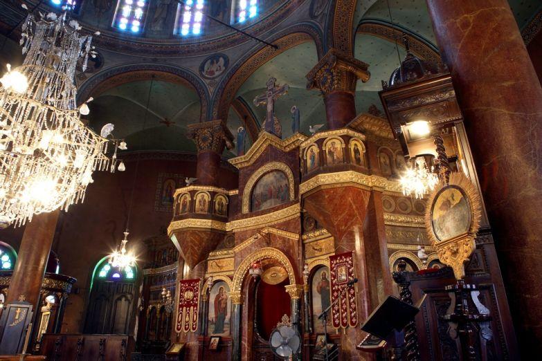 Интерьер собор св. Георгия