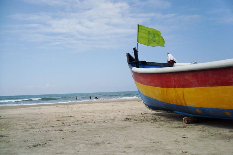 Пляж Арамболь на Гоа