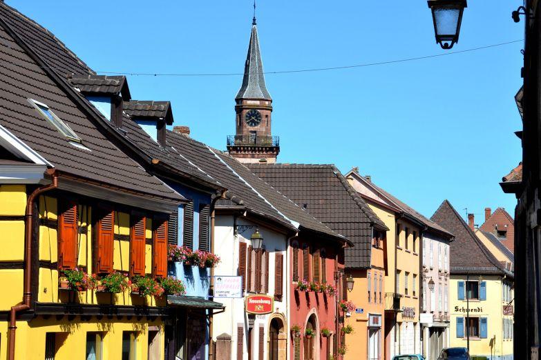 Небольшой городок