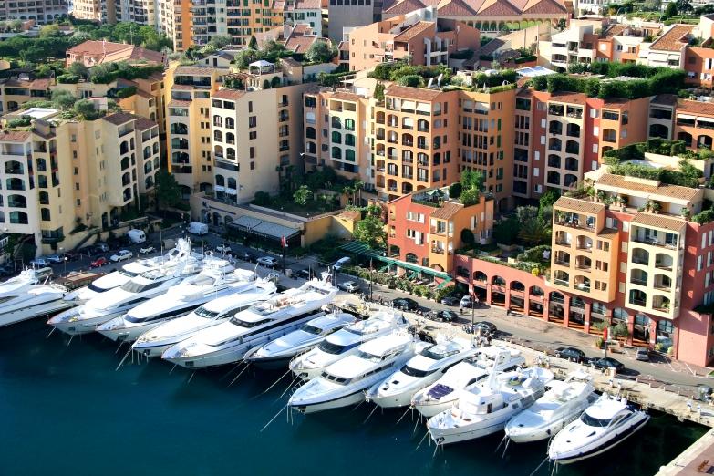 Причал в Монако