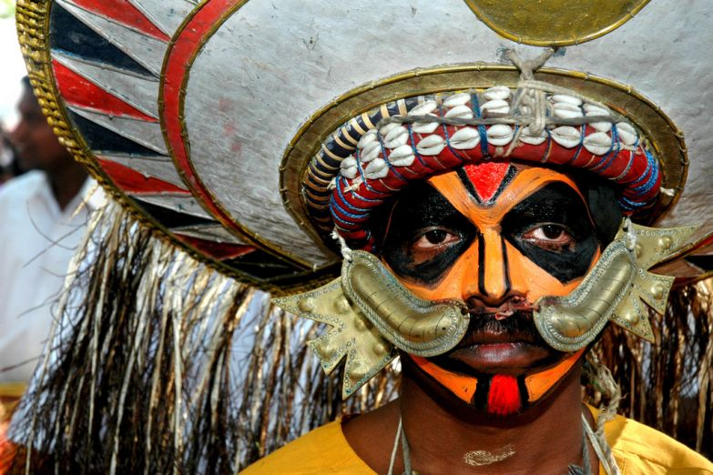Карнавал в форте Кочин, Керала