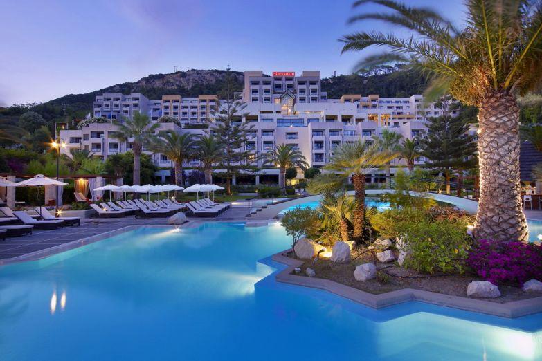 Один из пятизвездочных отелей Родоса