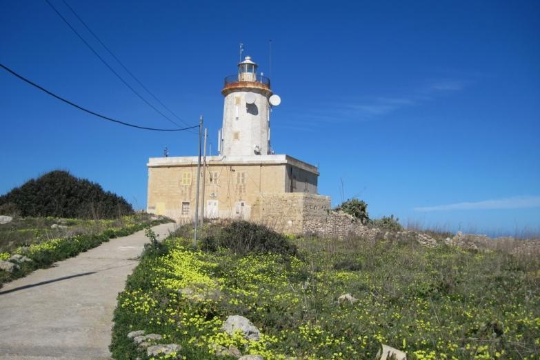Та Джордан - первый маяк построенный на Гозо