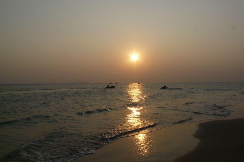 Восход солнца на Хайнане