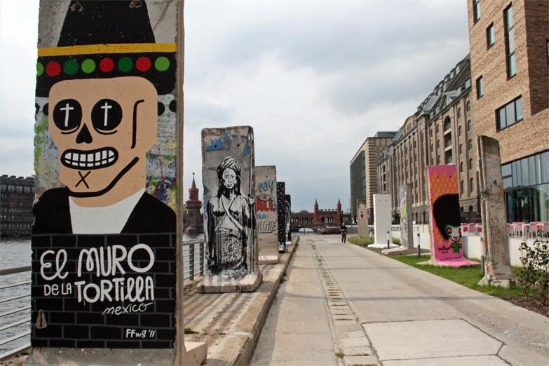 Выставка графити Freedom Park на Берлинской стене