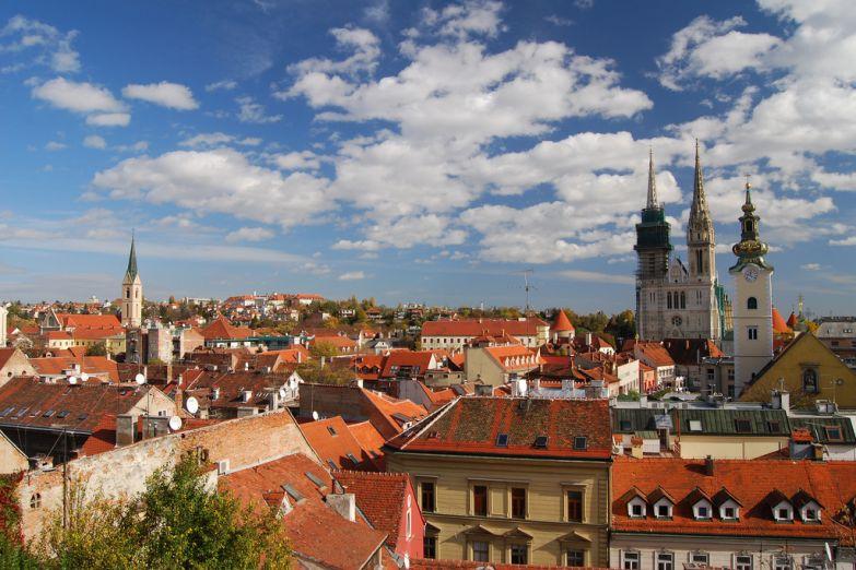 Город Загреб