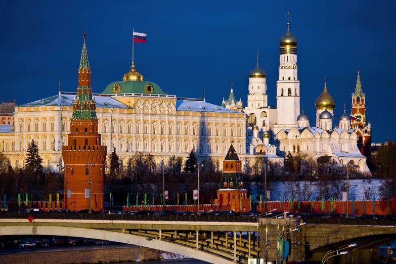 Кремль в Москве, Россия