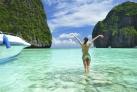 Пляж Майя Бич на островах Пхи Пхи