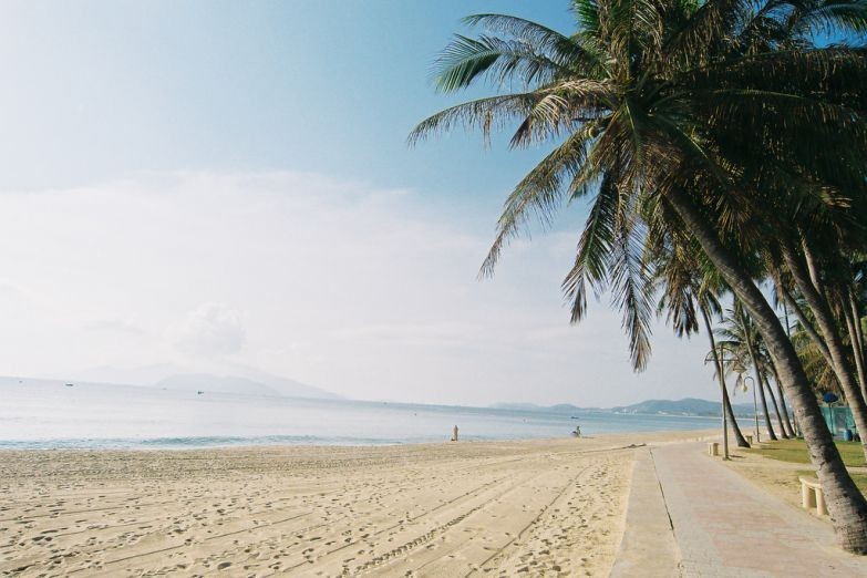 Безмятежная гладь пляжа