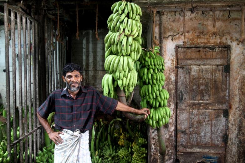 Продавец бананов