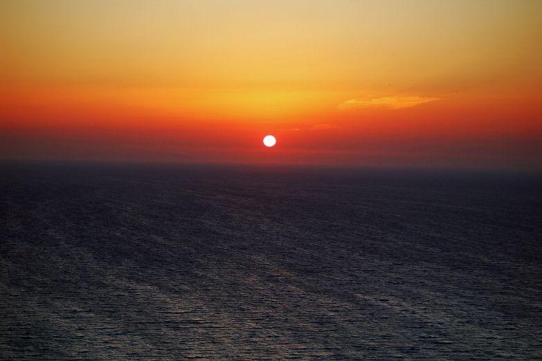 Закат на Родосе