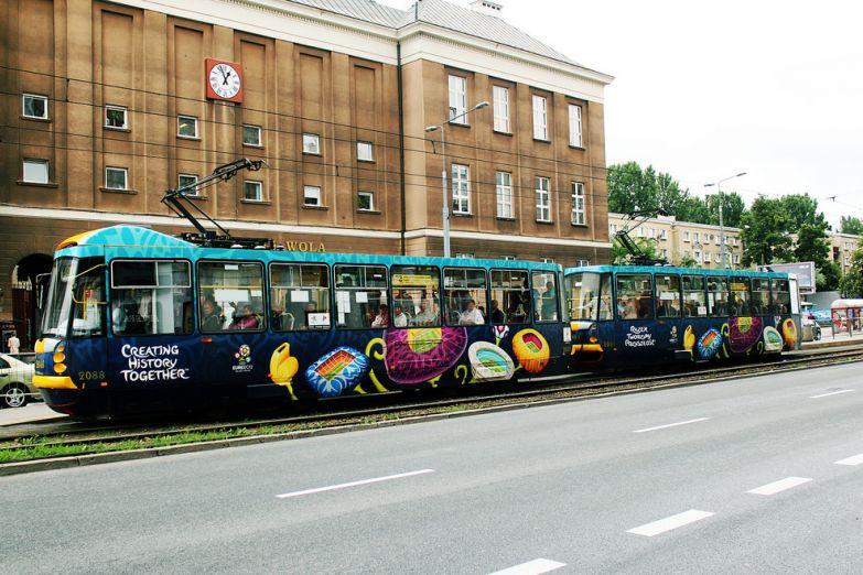 Варшавские трамвайчики