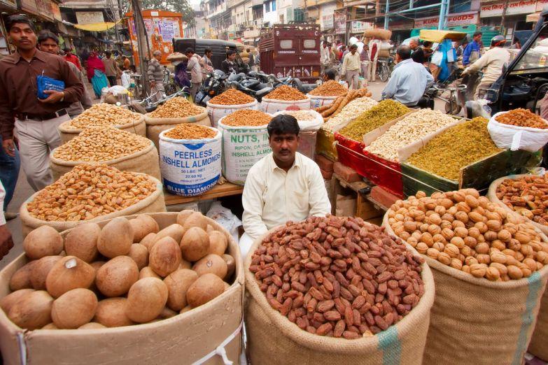 Старый рынок специй Дели