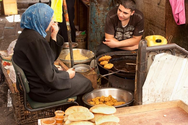 Уличная еда в Вифлееме