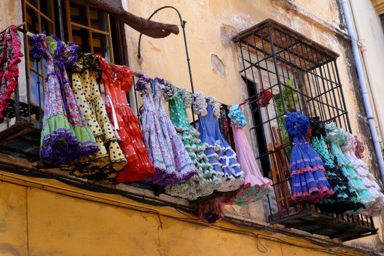 Платья для танца фламенко