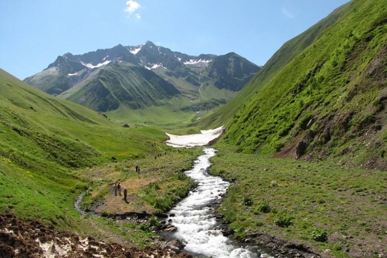 Горные реки Грузии