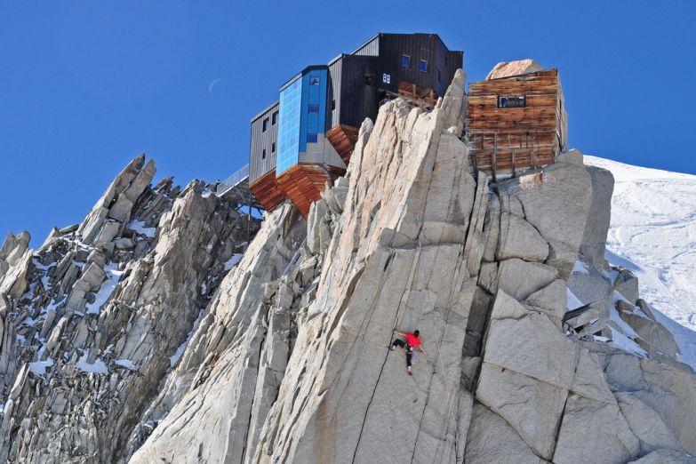 Скалолазанье в Альпах